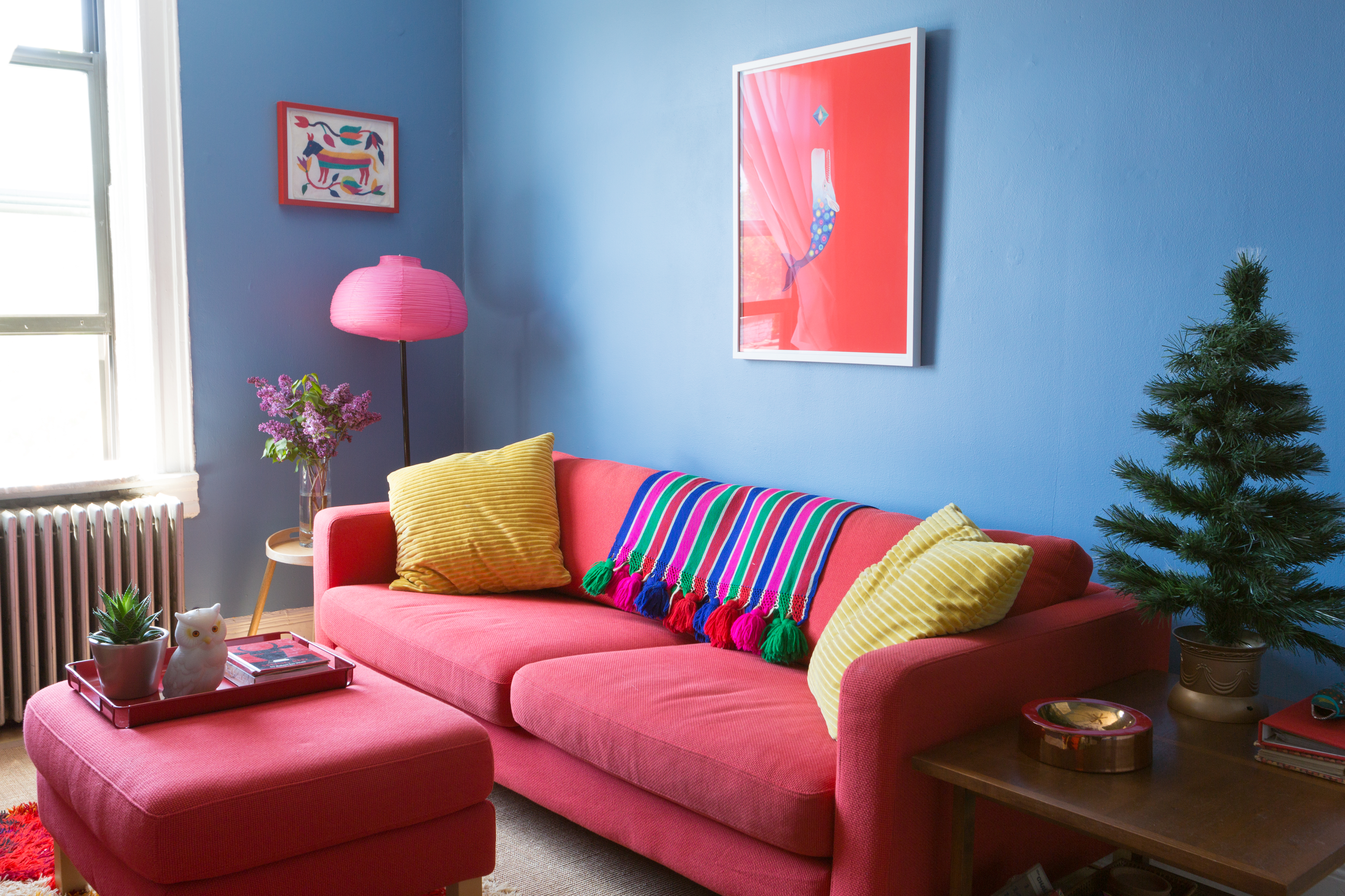 Every Room Is A Diffe Color In This Artist S Bold Brooklyn Apartment