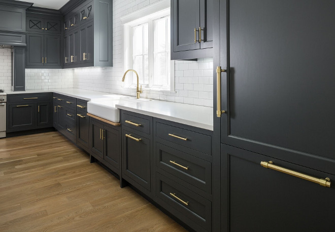 Strange The Best Black Paint For Kitchen Cabinets Apartment Therapy Download Free Architecture Designs Lukepmadebymaigaardcom