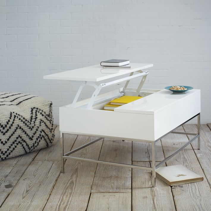 Coffee Table With Pop Up Top.Coffee Table Small Space Shopping Ideas Apartment Therapy
