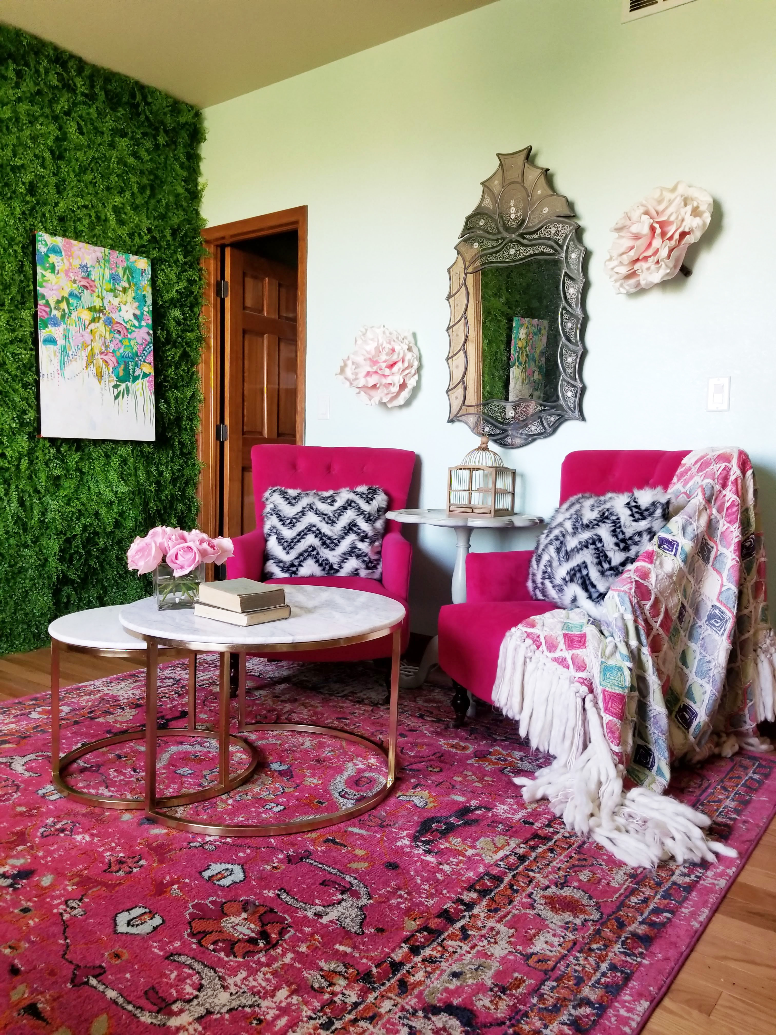 Colorado Home Tour: A Patterned Colorful Big House ... on pink la, pink kingdom, pink bh, pink flower of life, pink ba, pink sp, pink st, pink hp, pink do, pink brother, pink be, pink blue sky,