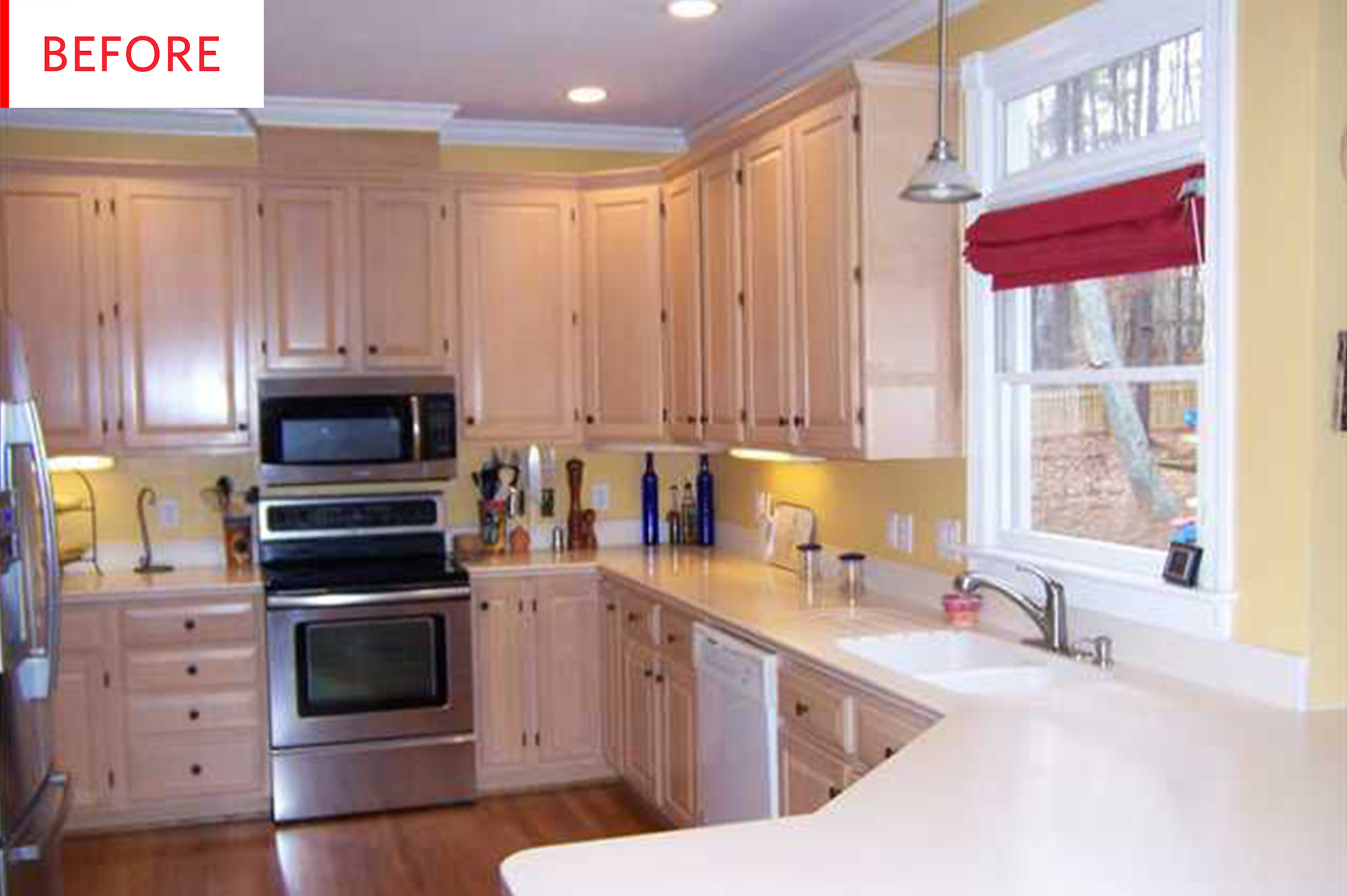 Kitchen Cabinet Makeover Apartment Therapy