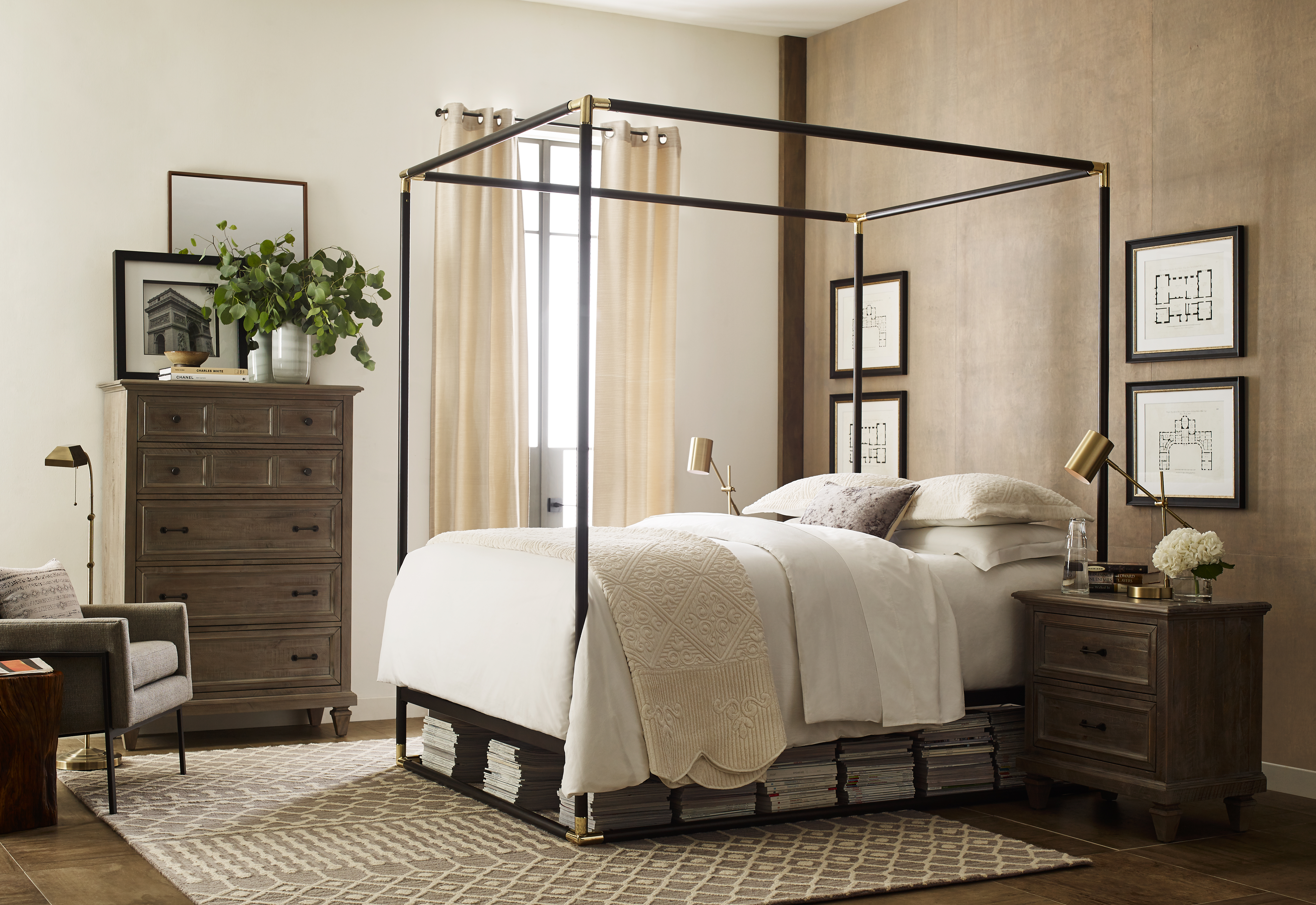Wayfair S Restoration Hardware Style Line Is On For Way Less Apartment Therapy