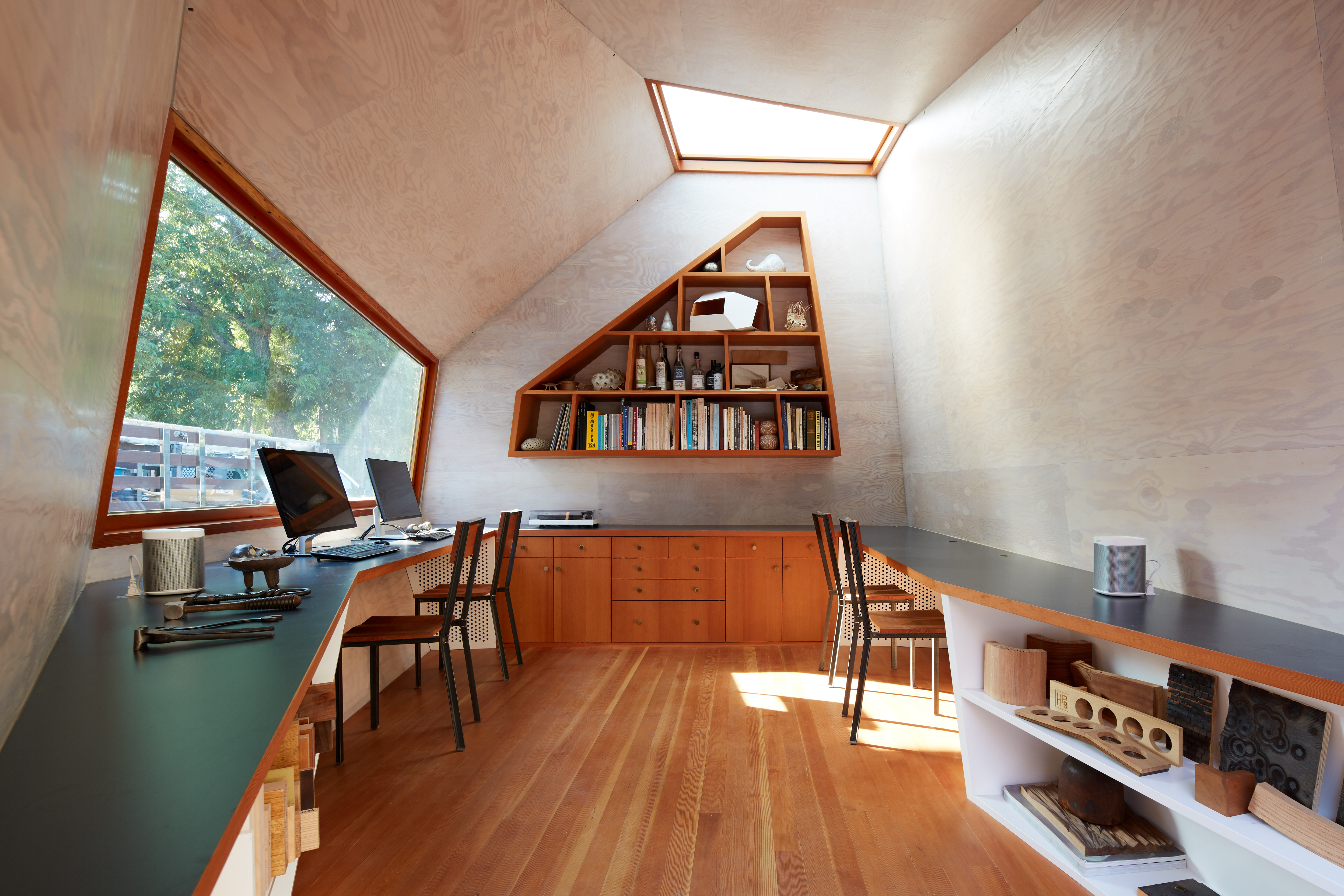 Tiny House Micro Pod Lighthouse Office | Apartment Therapy