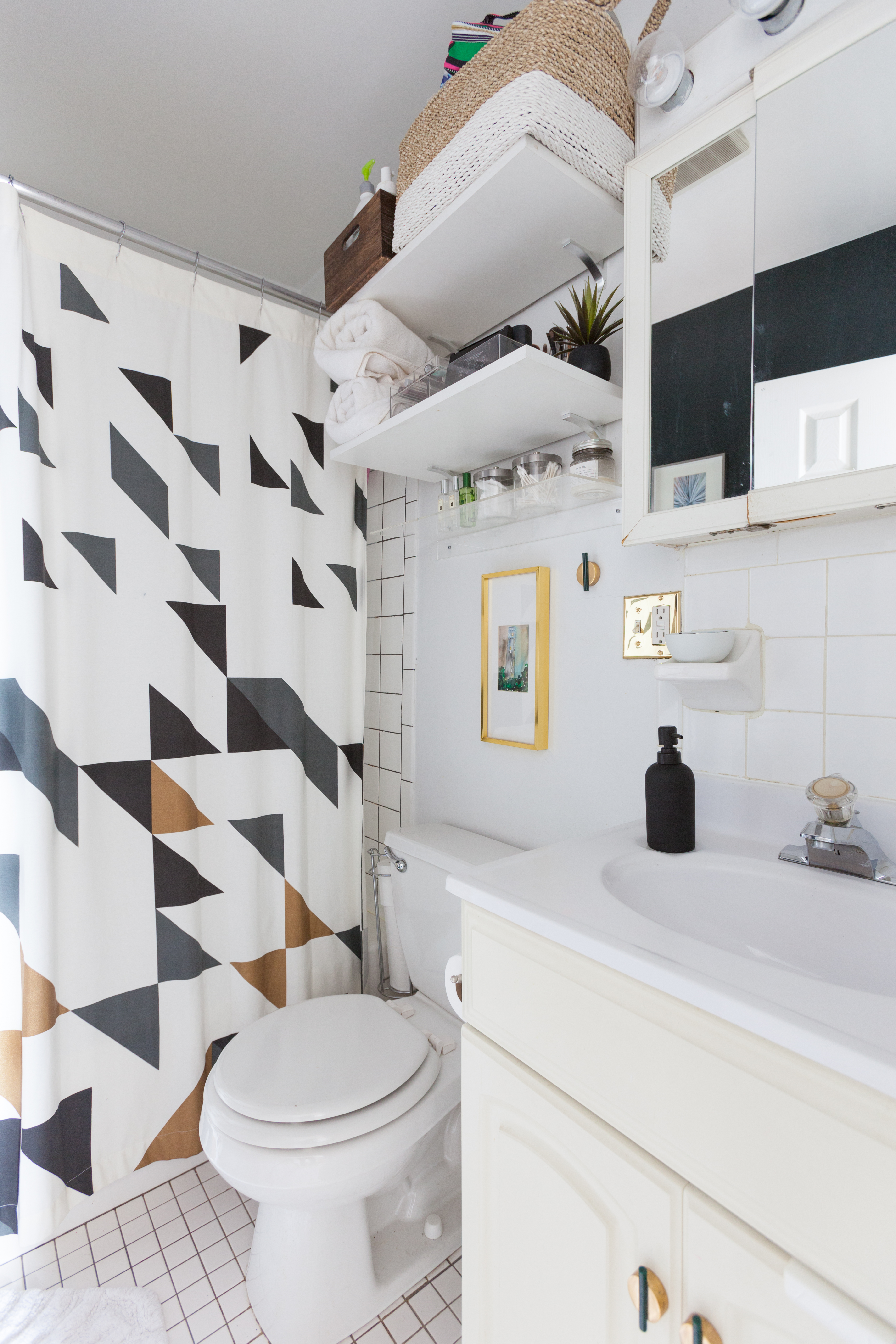 Small Bathroom Storage | Small Bathroom Design Storage Ideas Apartment Therapy