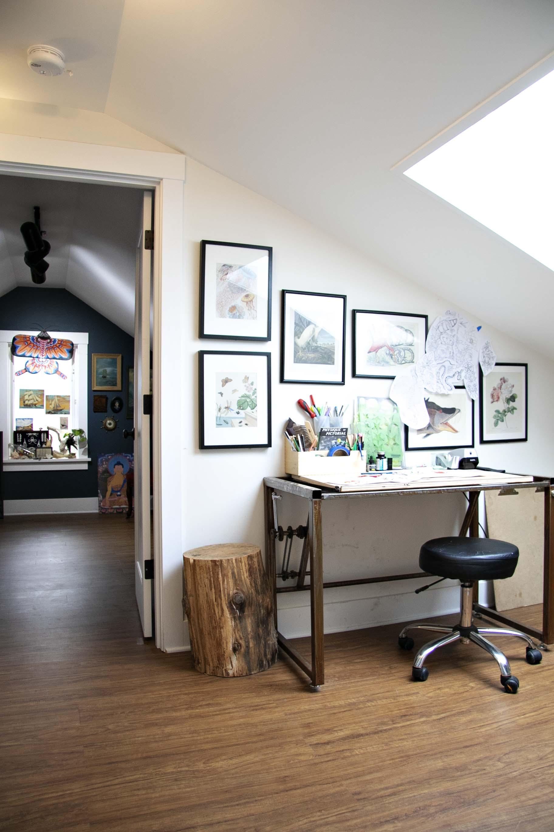 Cool Wonderland Tattoo Hand Painted Decor House Tour Apartment Machost Co Dining Chair Design Ideas Machostcouk