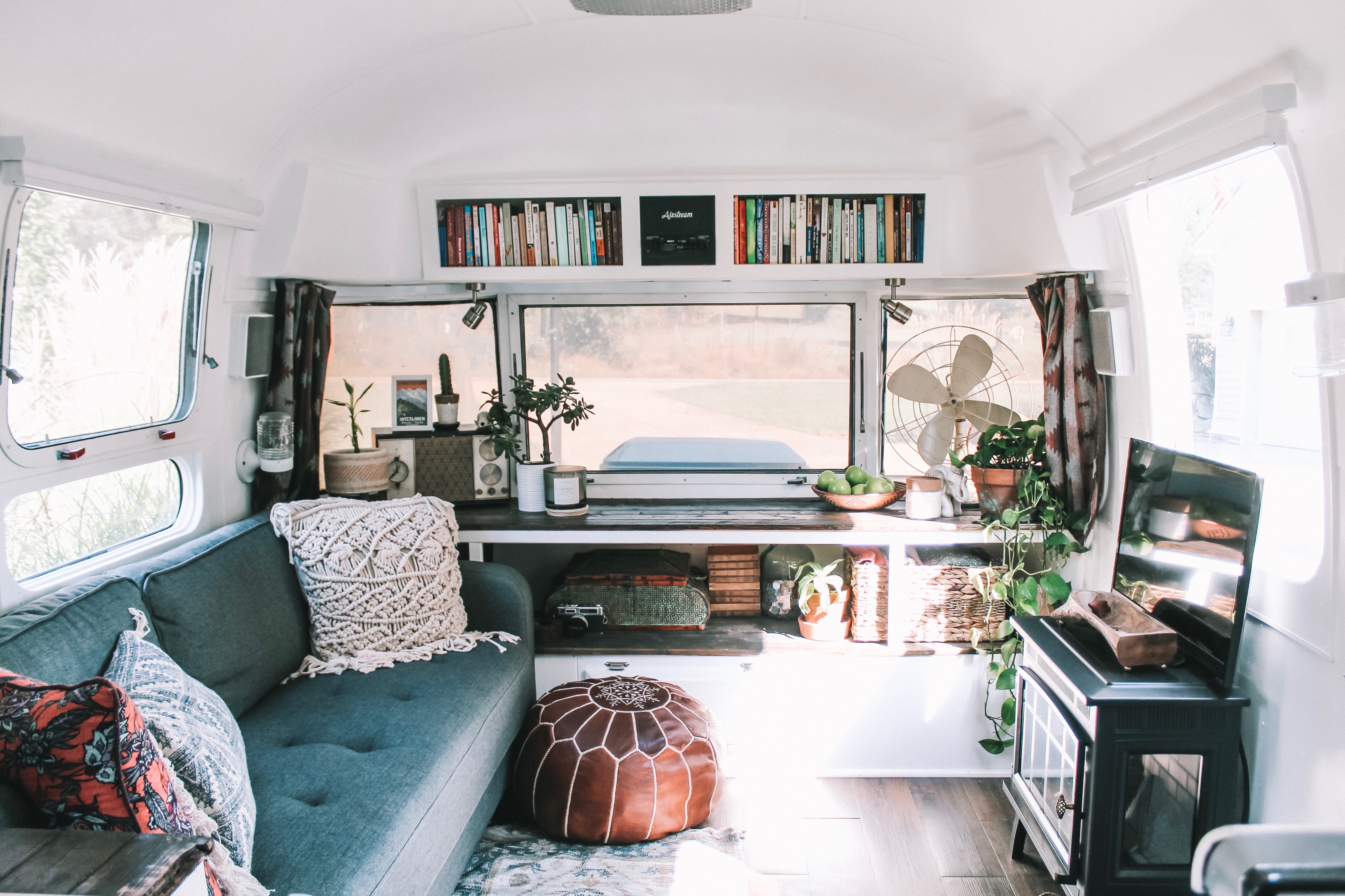 Maximalist Tiny House Interior Design