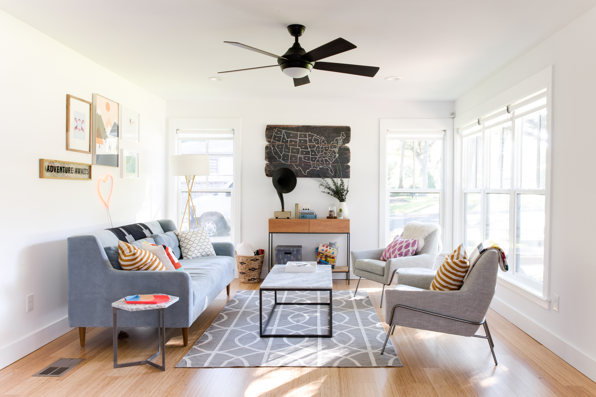 cheap easy weekend home improvement projects | apartment therapy