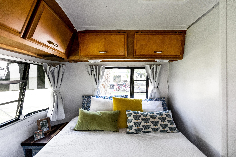 Tiny Home Inspiration Rv Travel Trailer Tour Apartment Therapy
