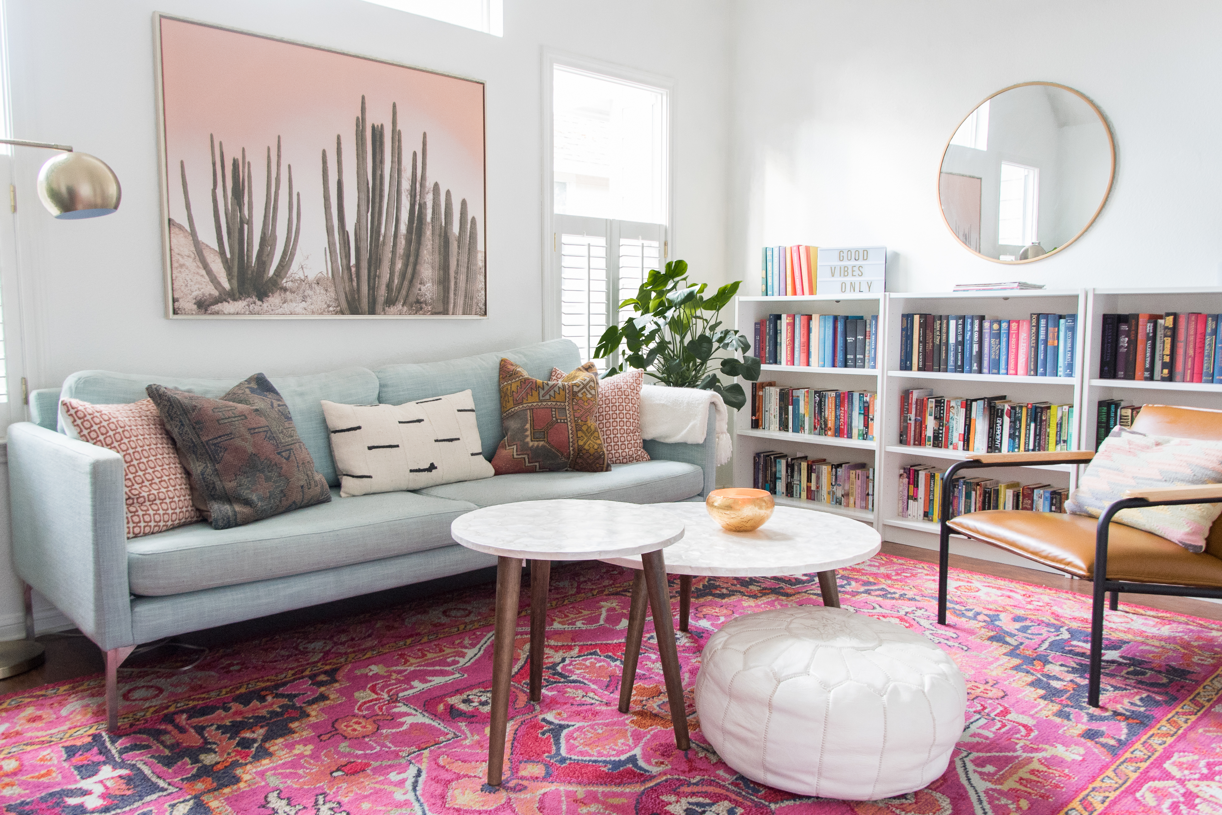 Refreshing Living Room Decorating Ideas, Little Living Room