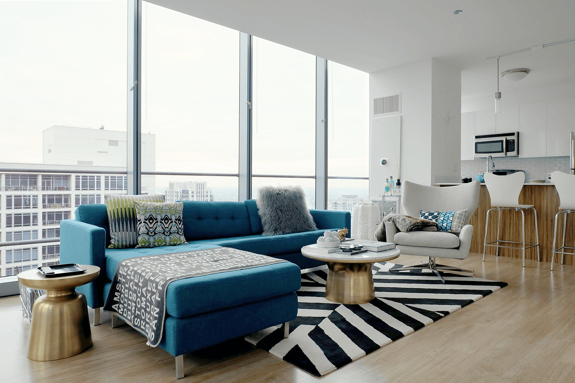 How To Save Money While Decorating Your Living Room Apartment Therapy