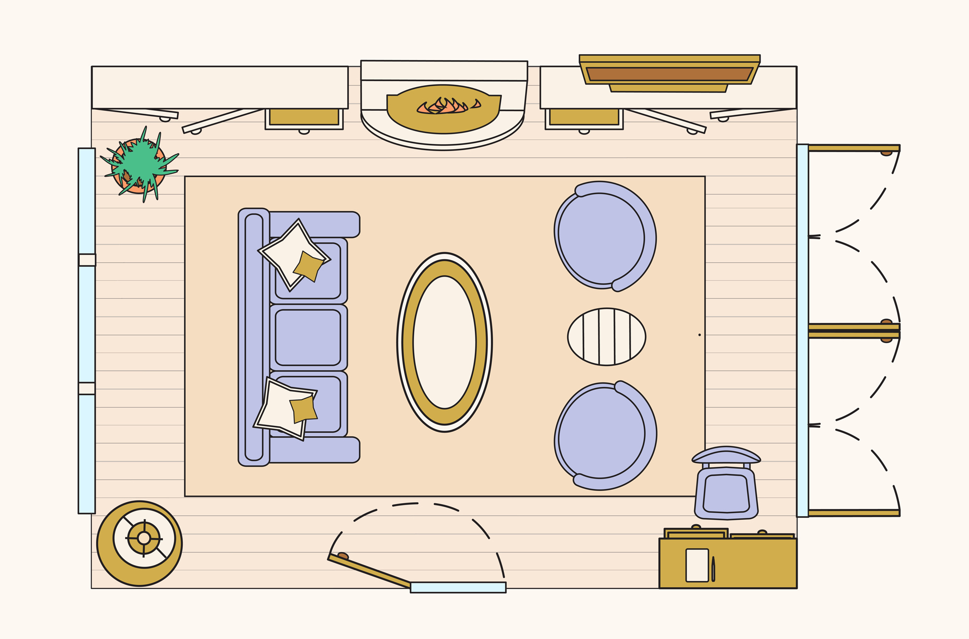 10 Living Room Layouts to Try: Sample Floorplans   Apartment