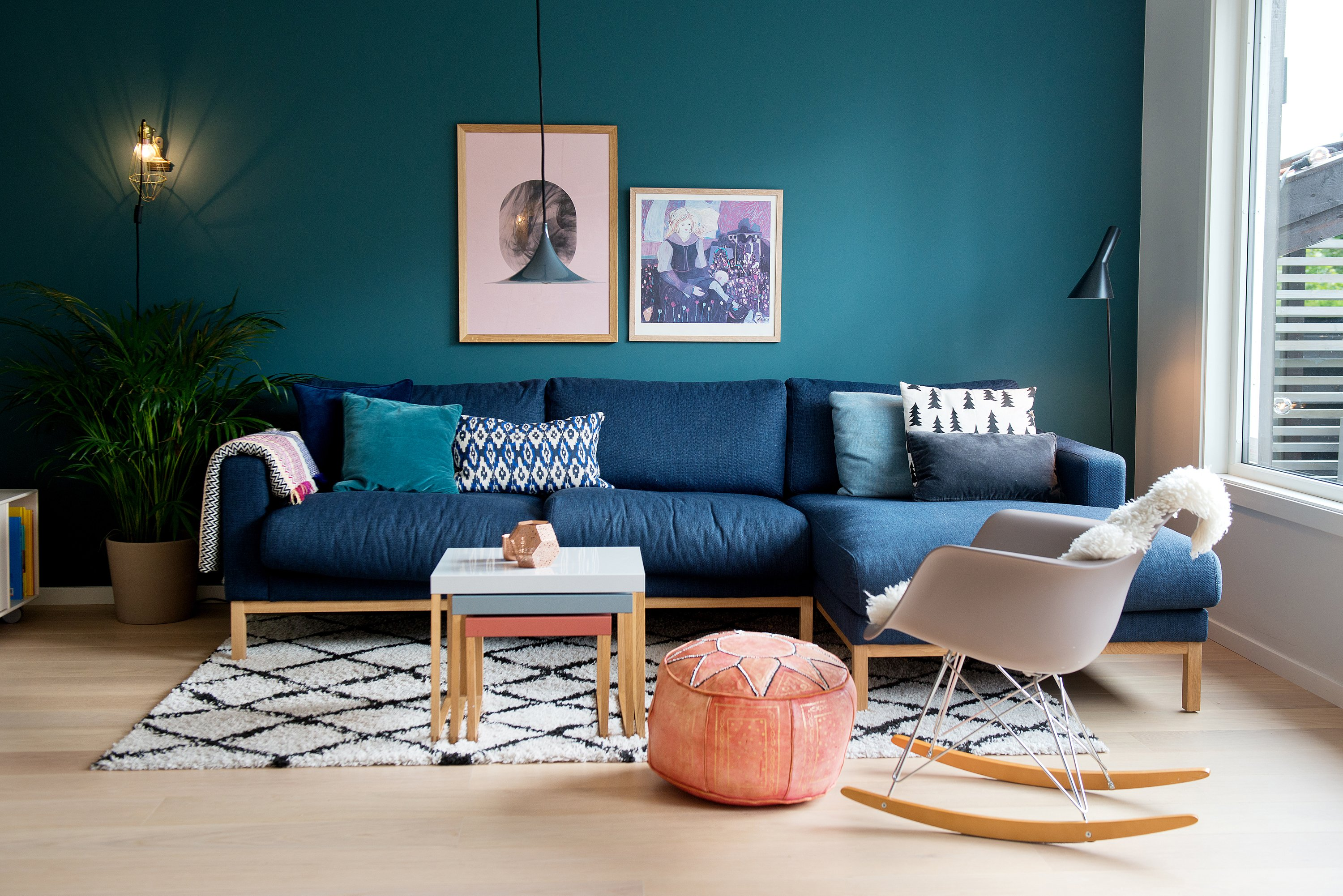 Nesting Tables To Help You Design A Layered Living Room