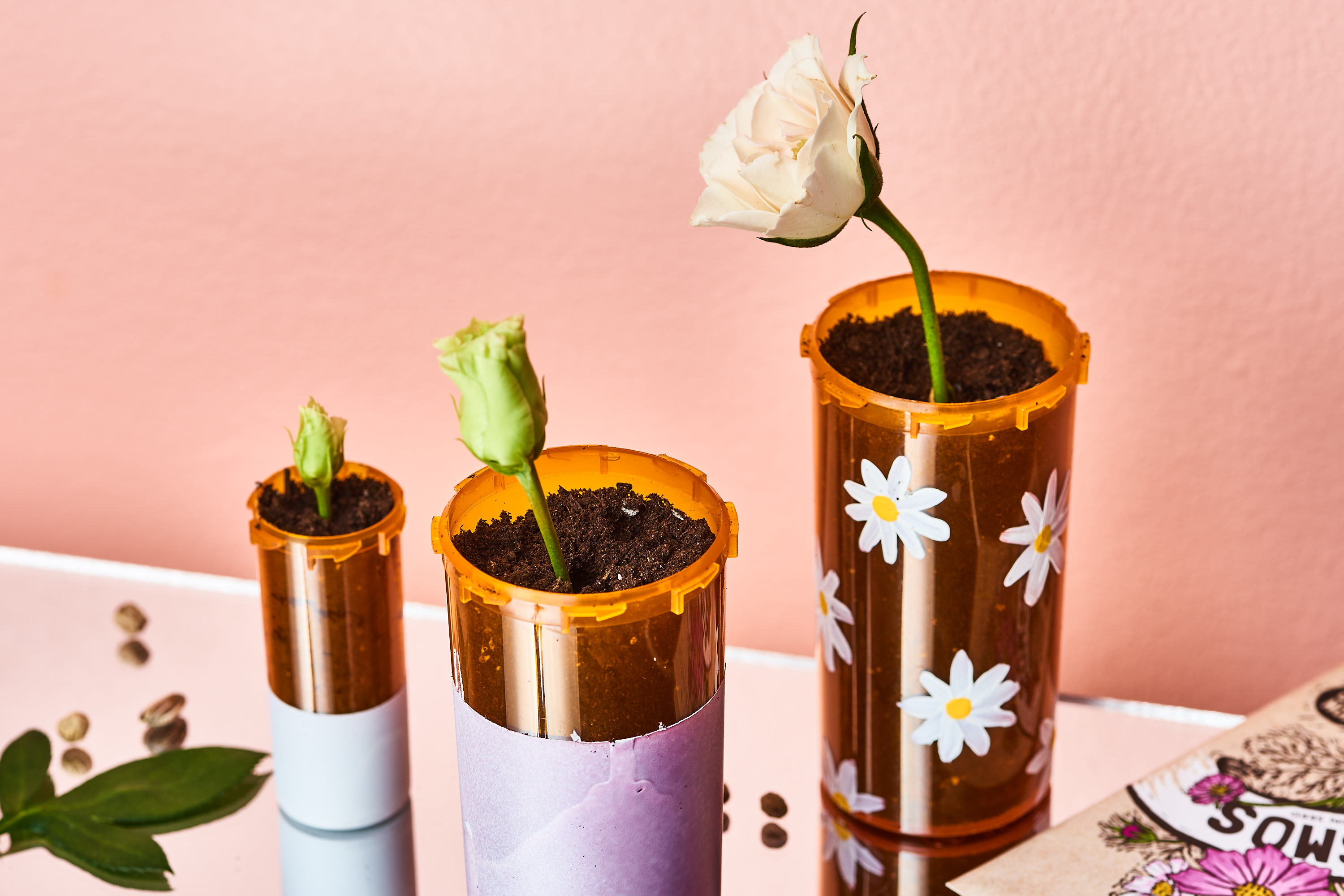 25 New Ways To Reuse And Recycle Your Old Pill Bottles Apartment Therapy