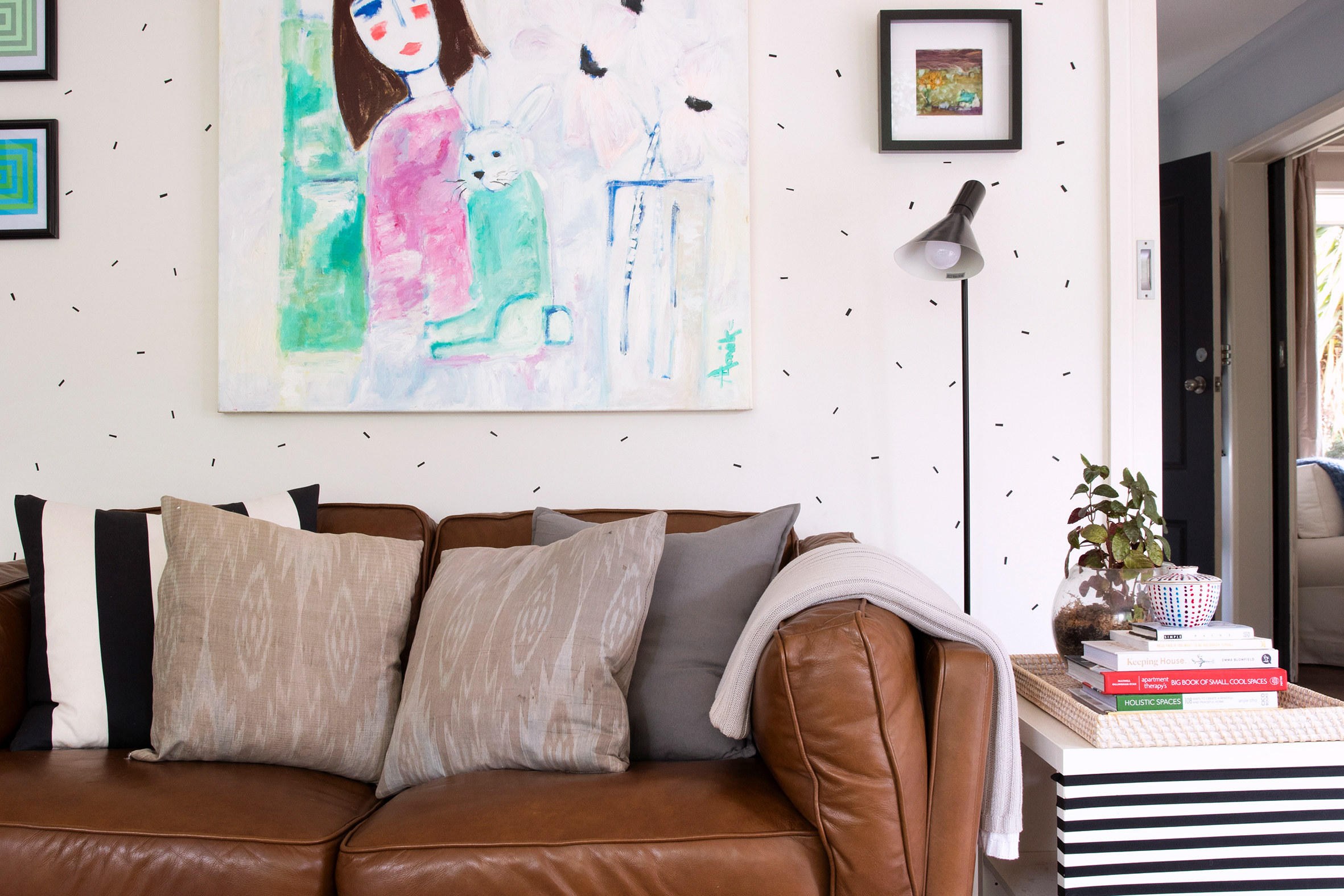 This Australia Home Features Washi Tape Used in Two Simple But Striking Ways
