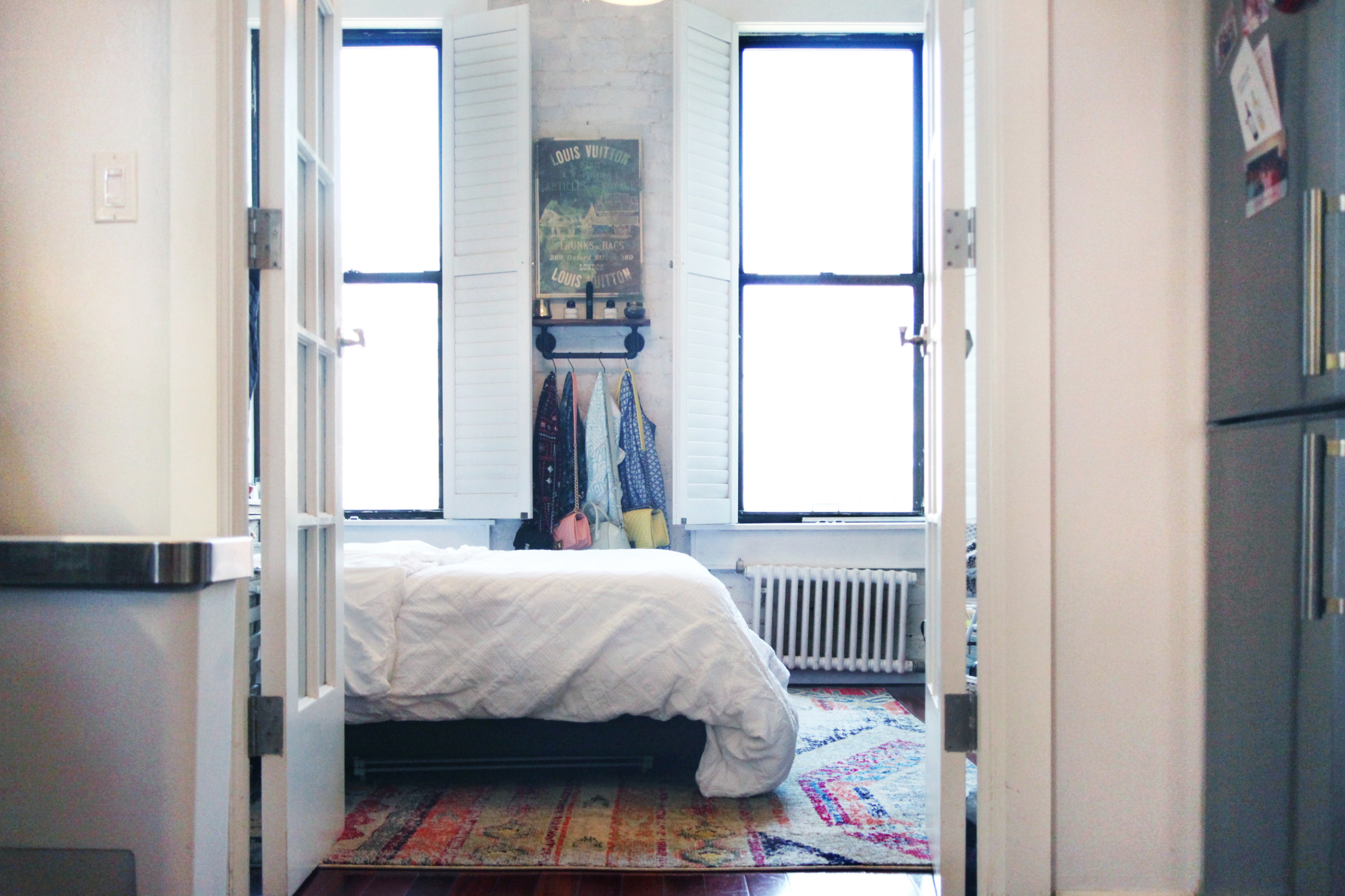 A Tiny 400-Square-Foot NYC Apartment Tackles Utility With Style