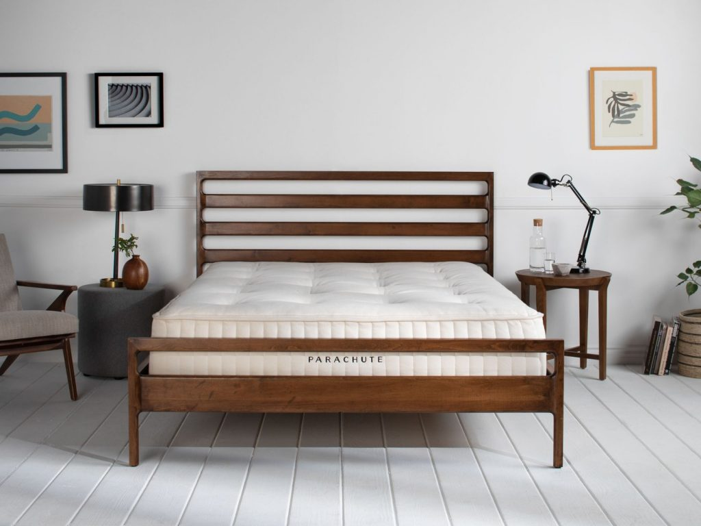 I Ditched My Foam Mattress for Parachute's Coil Mattress & I Couldn't Be Happier (Or Comfier)