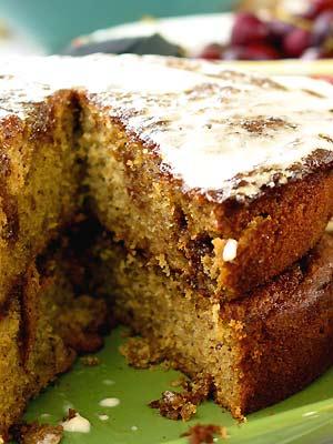 Caramel Banana Cake Recipe