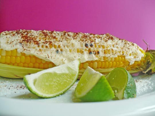Street Food Recipe: Elote (Roasted Sweet Corn with Cheese) | Kitchn