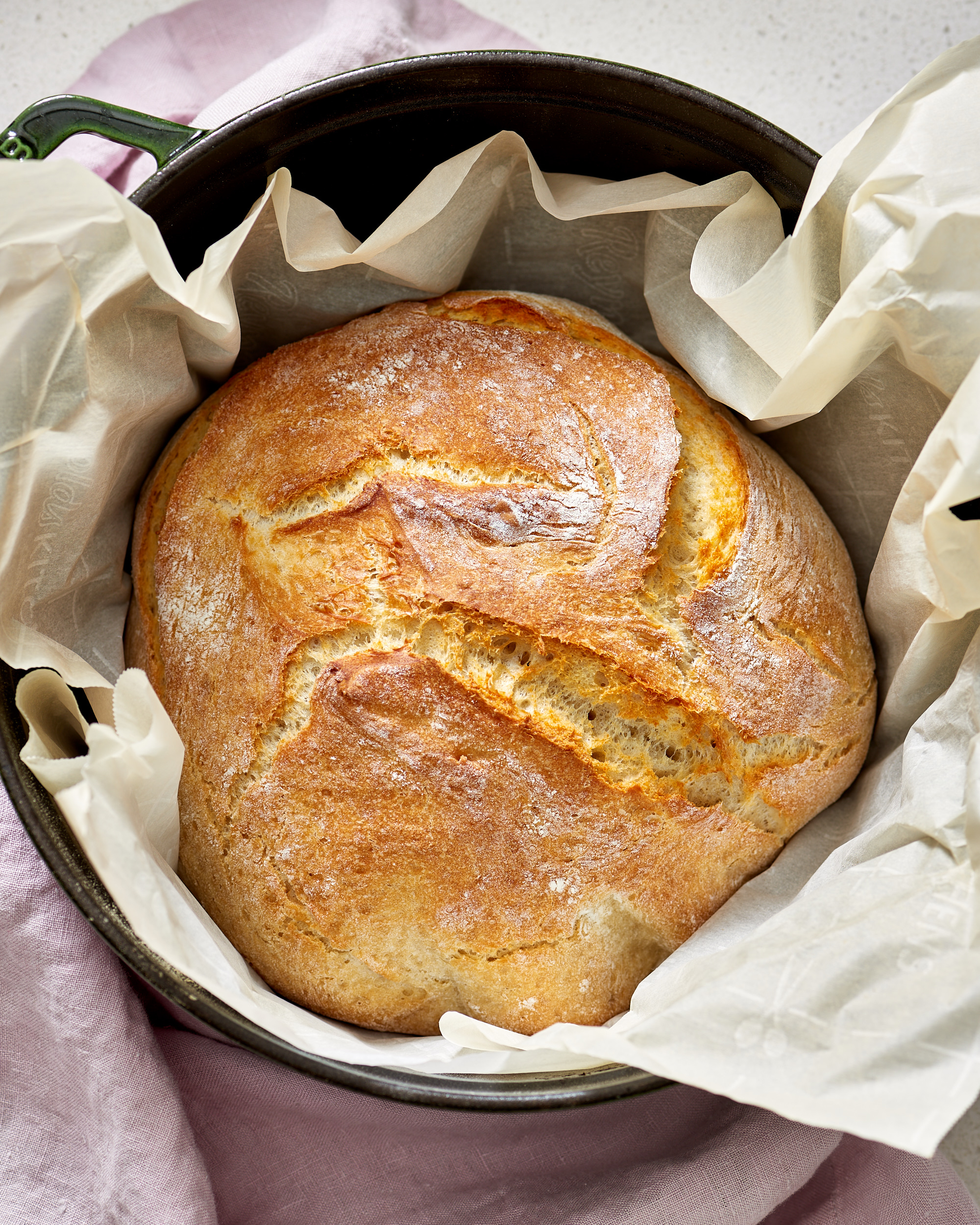 How To Make No Knead Bread Kitchn