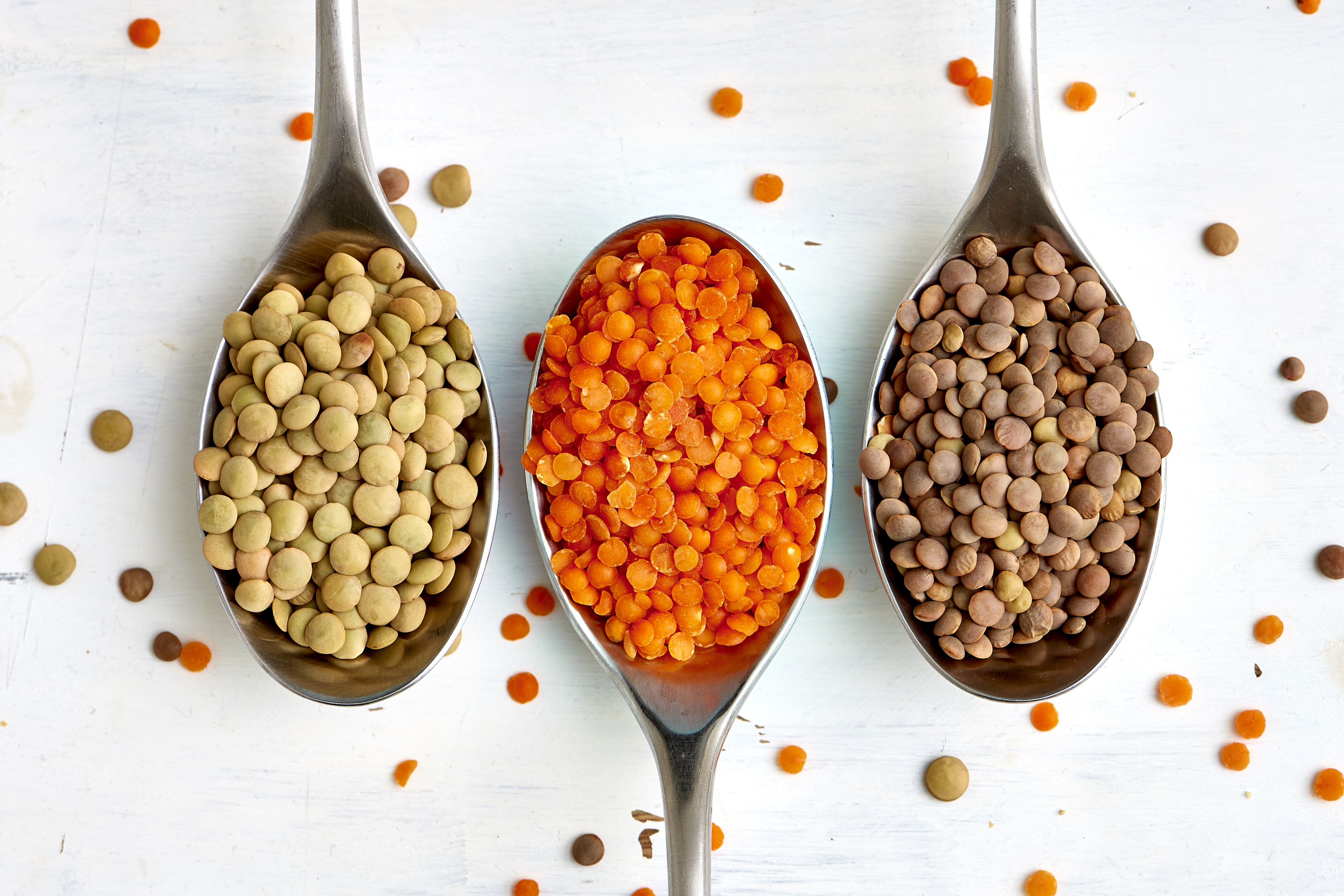 What's the Difference Between Brown, Green, and Red Lentils