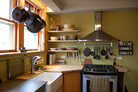 Kitchen Cure Snapshot: A New Pot Rack | Kitchn