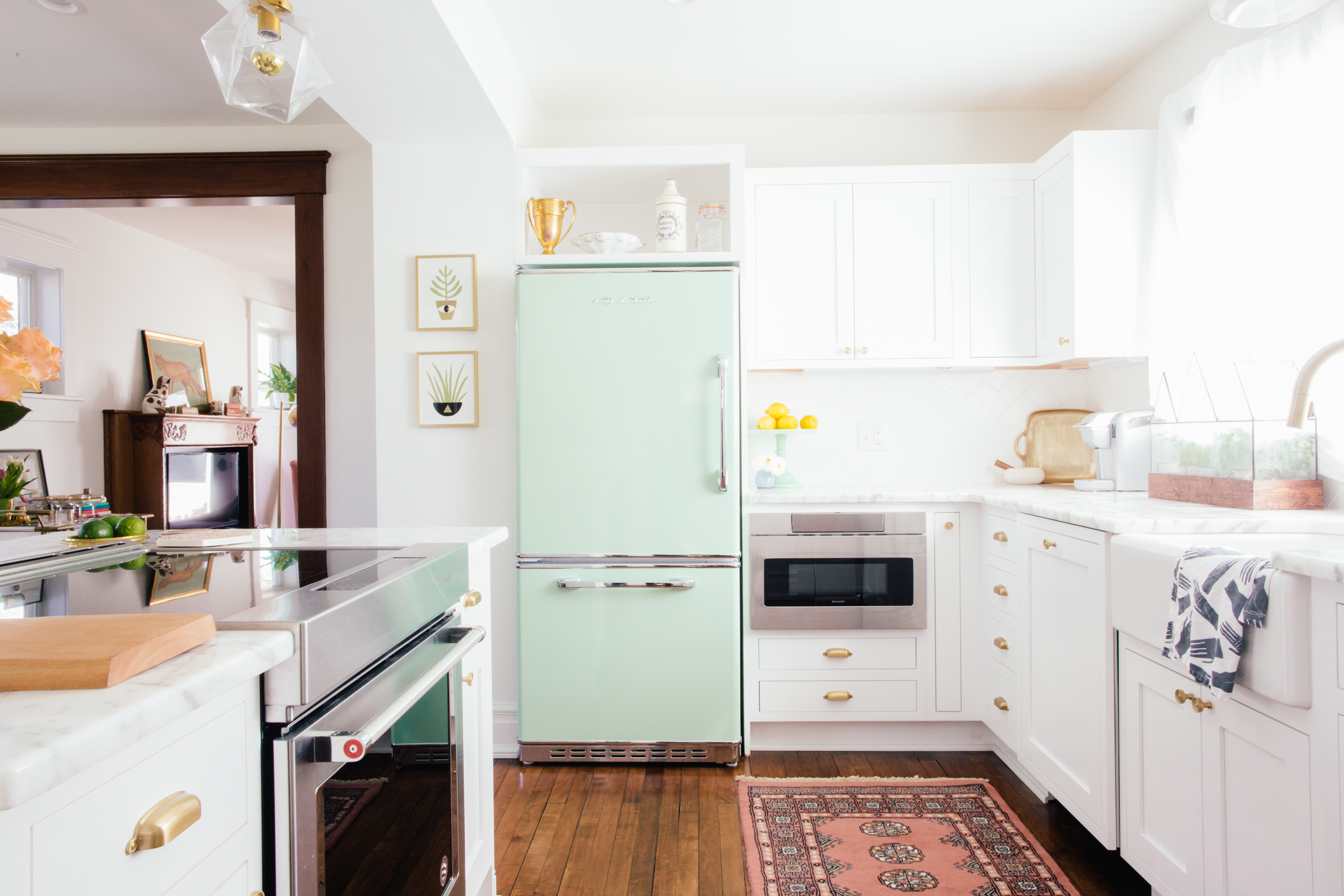 The Kitchen Work Triangle As Seen In Real Kitchens Kitchn