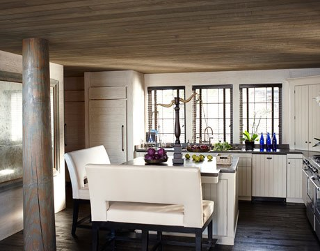 New Trend Benches At The Kitchen Island Kitchn