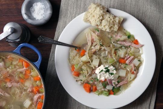 Recipe: Sourgrass Soup | Kitchn