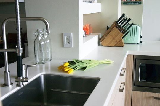 All About: Synthetic Solid Surface Countertops | Kitchn