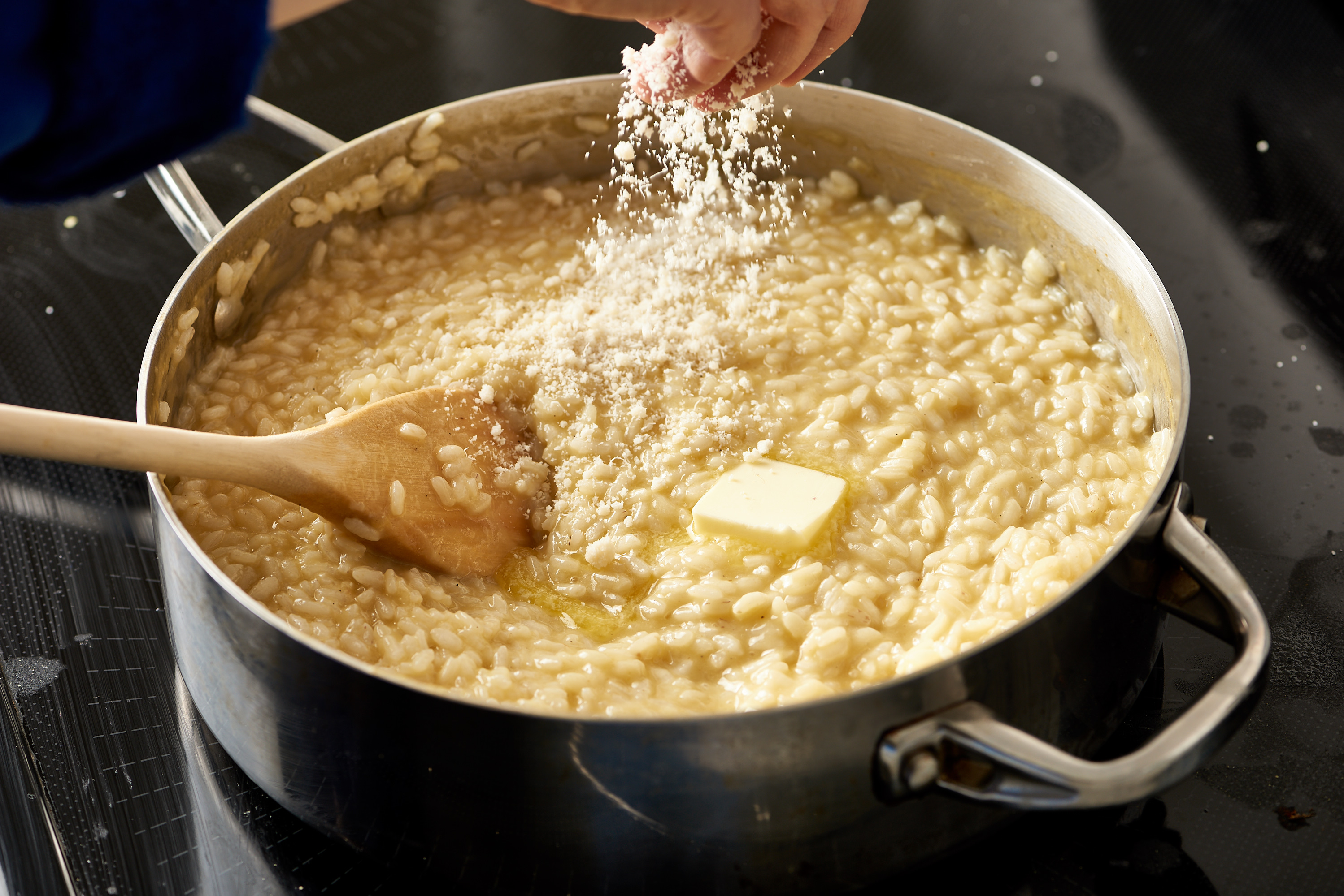 How to cook risotto with white wine