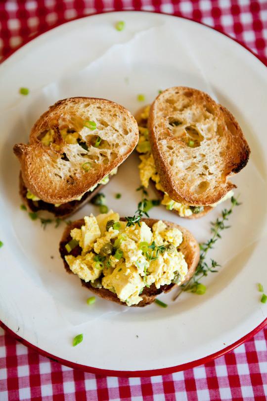 Vegan Recipe: Lemony Eggless Egg Salad | Kitchn