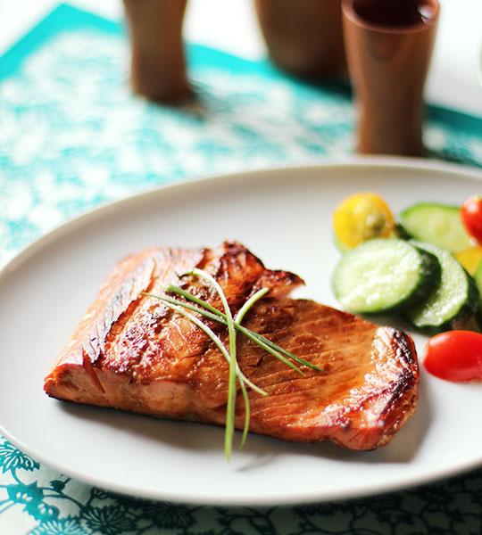 Recipe: Simple Salmon Teriyaki | Kitchn