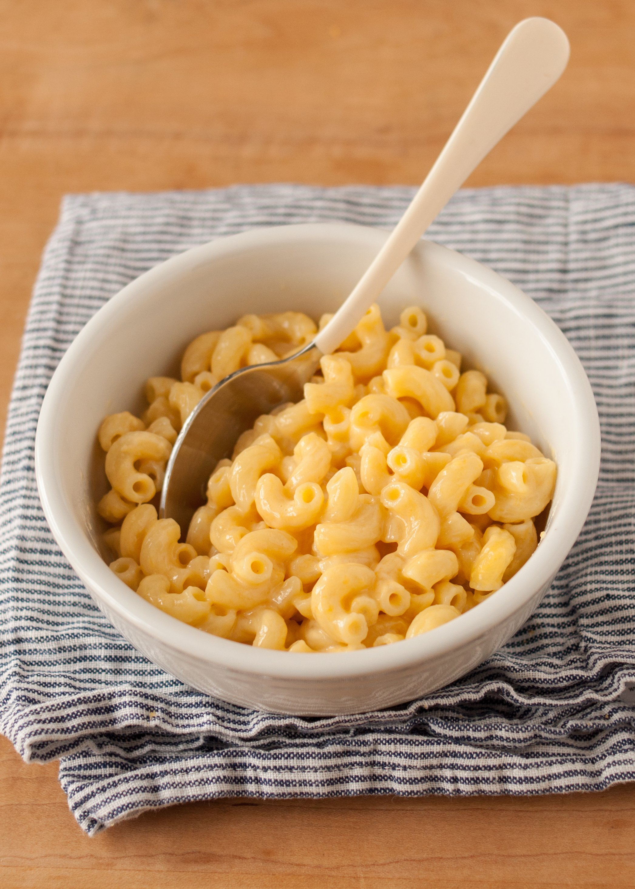 One Bowl Microwave Mac And Cheese
