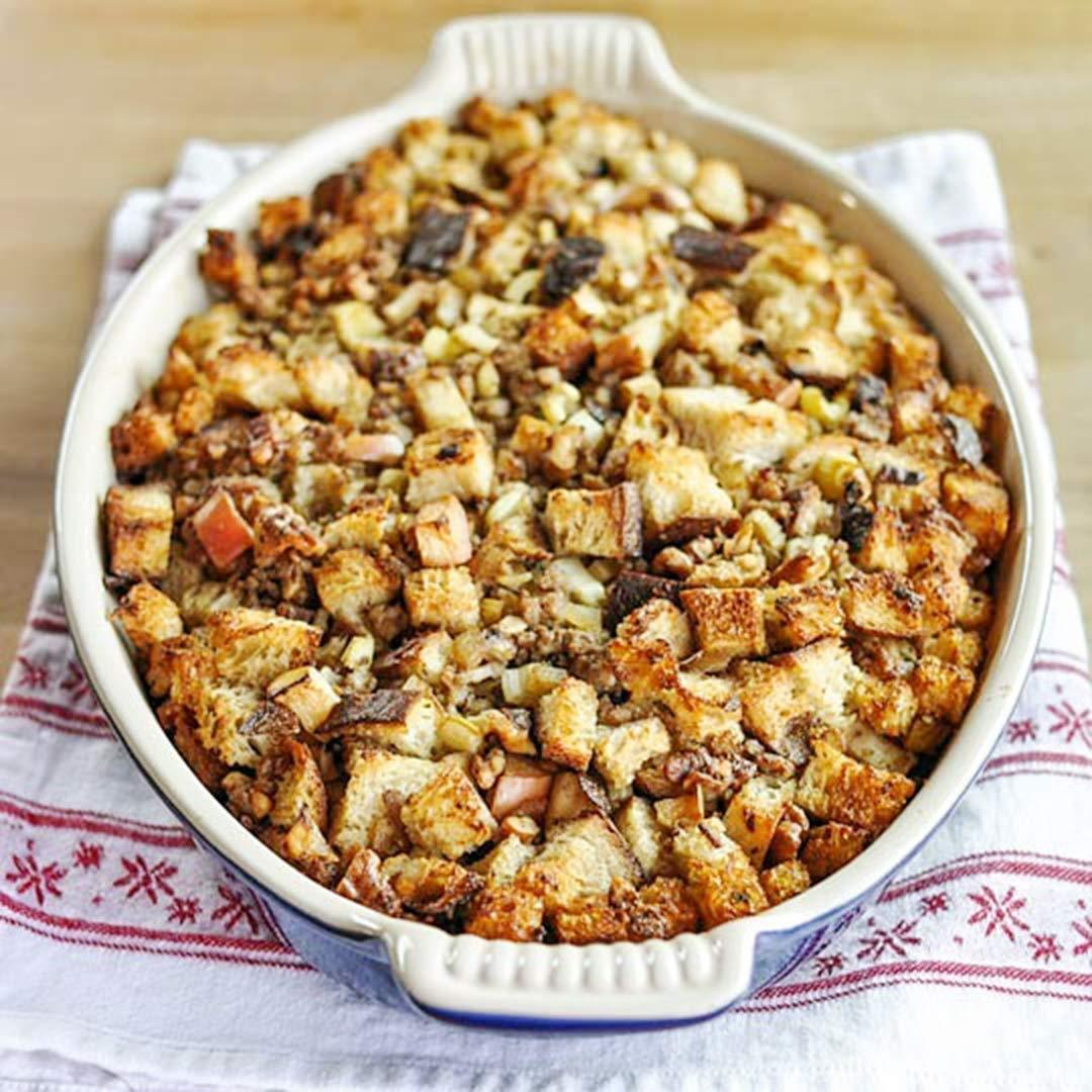 How To Make Bread Stuffing (Dressing) for Thanksgiving | Kitchn