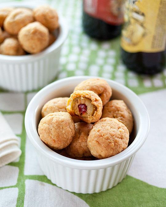 Party Appetizer Recipe: Cheddar Olives | Kitchn