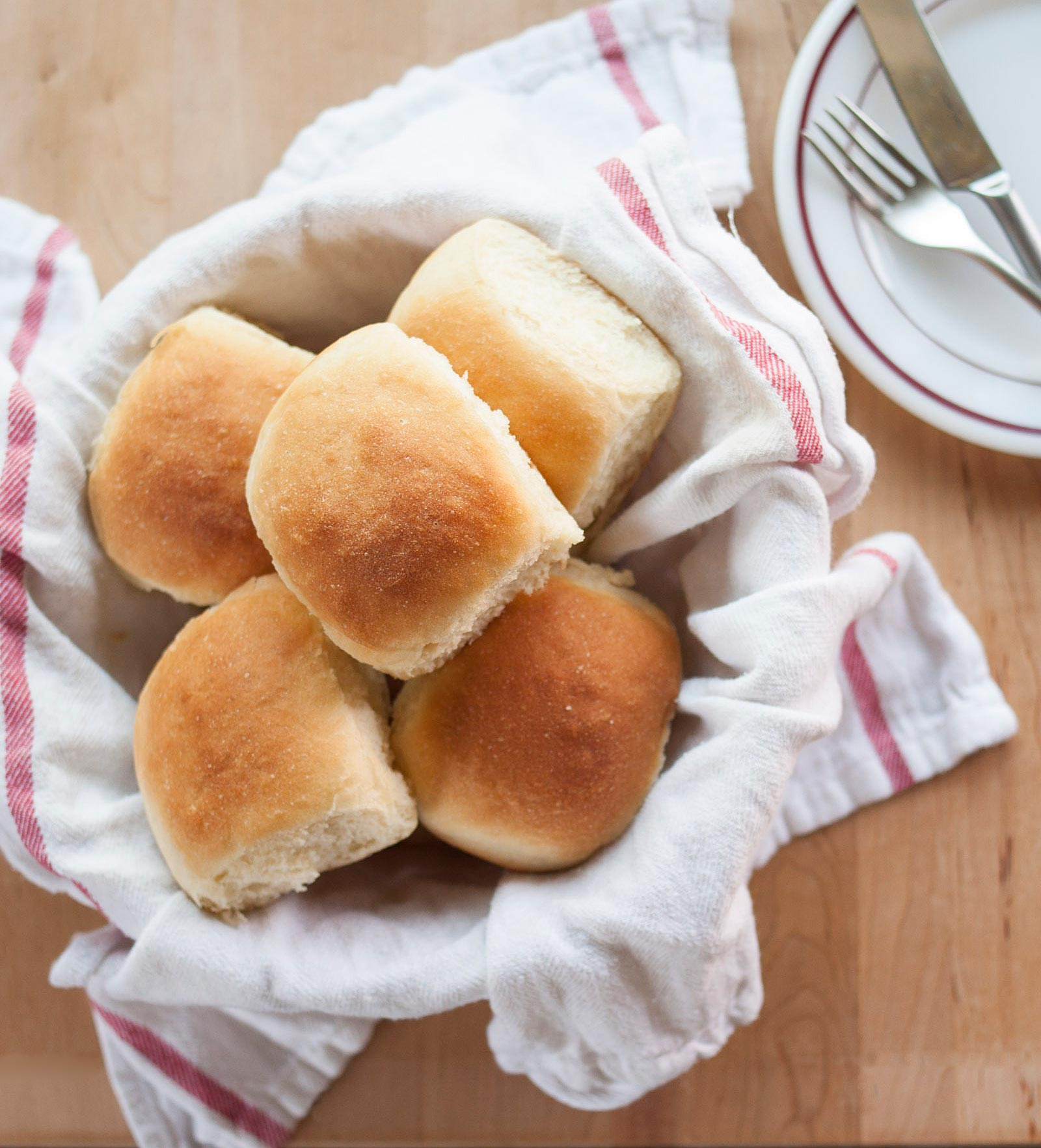 How to Make Soft and Tender Dinner Rolls   Kitchn