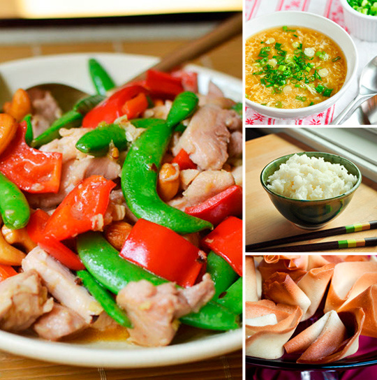 """Stir Fry & Fortune Cookies: A Chinese """"Take Out"""" Menu for Saturday Game Night 