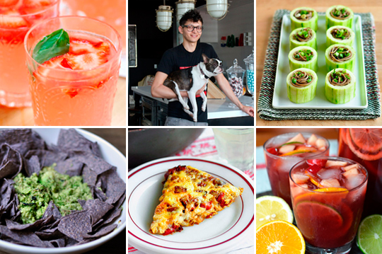 15 Fresh Spring Cocktails, How to Make a Frittata & A Loft Kitchen with a Puppy | Kitchn