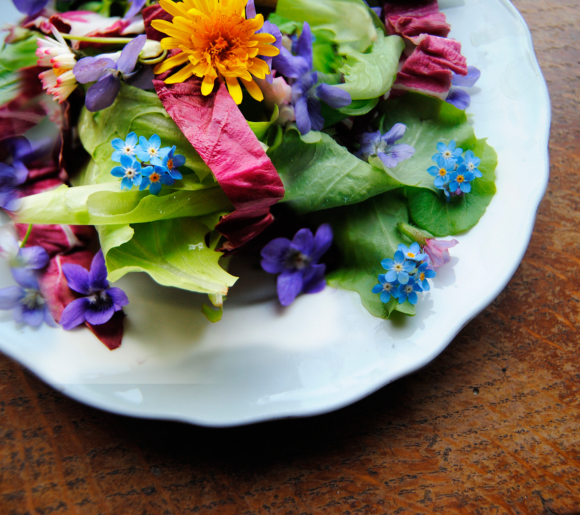 5 Beautiful Flowers You Probably Didn't Know You Could Eat