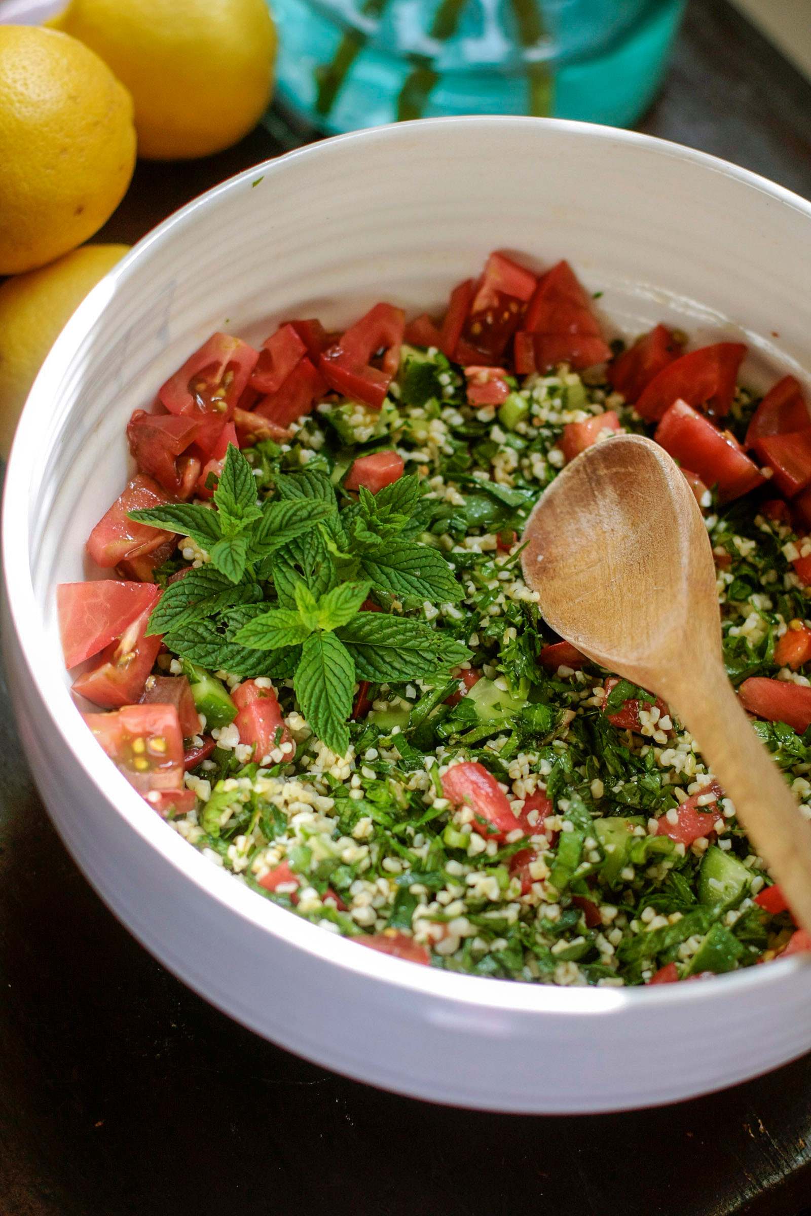 How to Make Tabbouleh Salad with Bulgur, Quinoa, or Cracked Wheat | Kitchn
