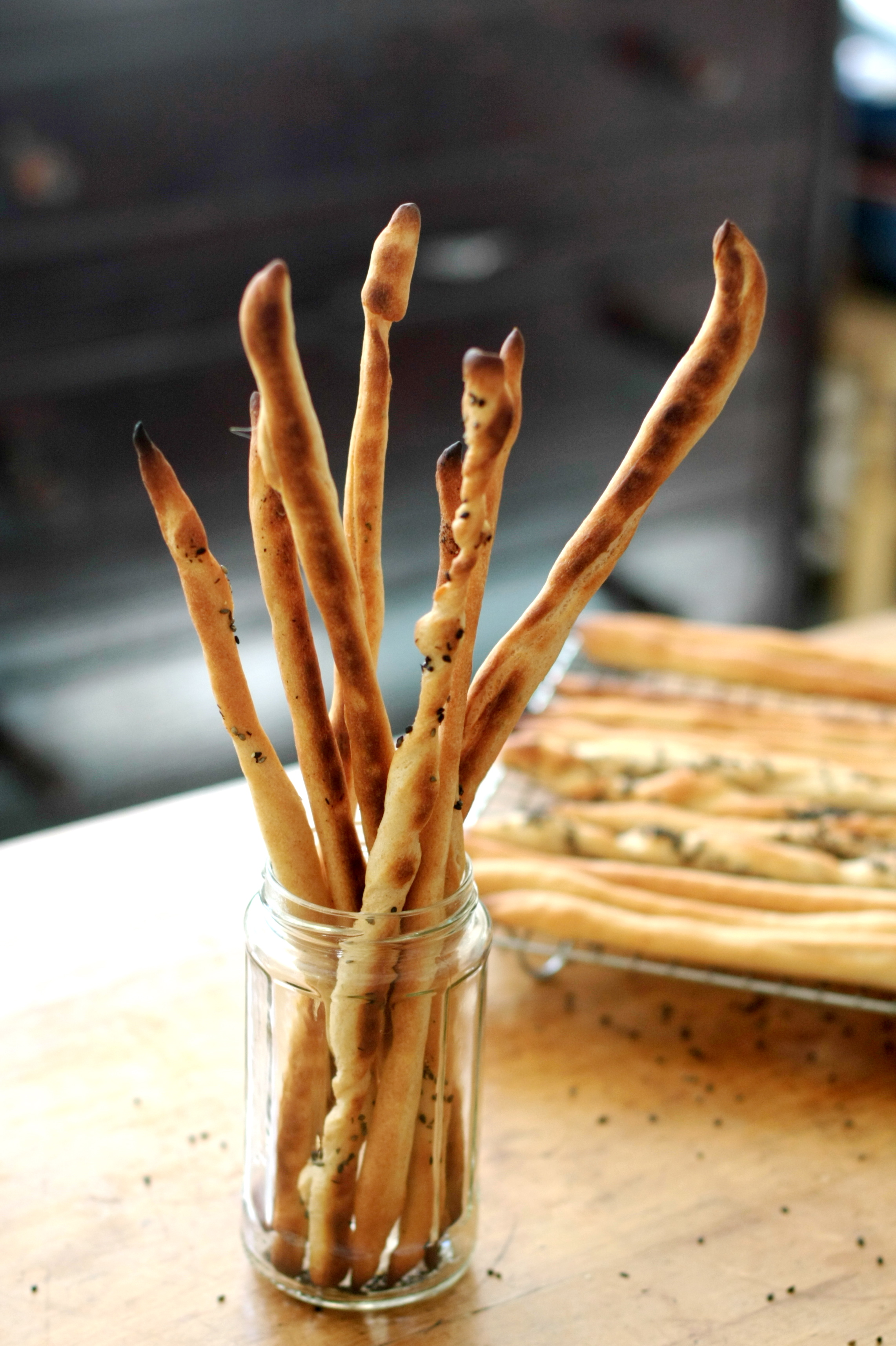 How To Make Italian Grissini Breadsticks Kitchn