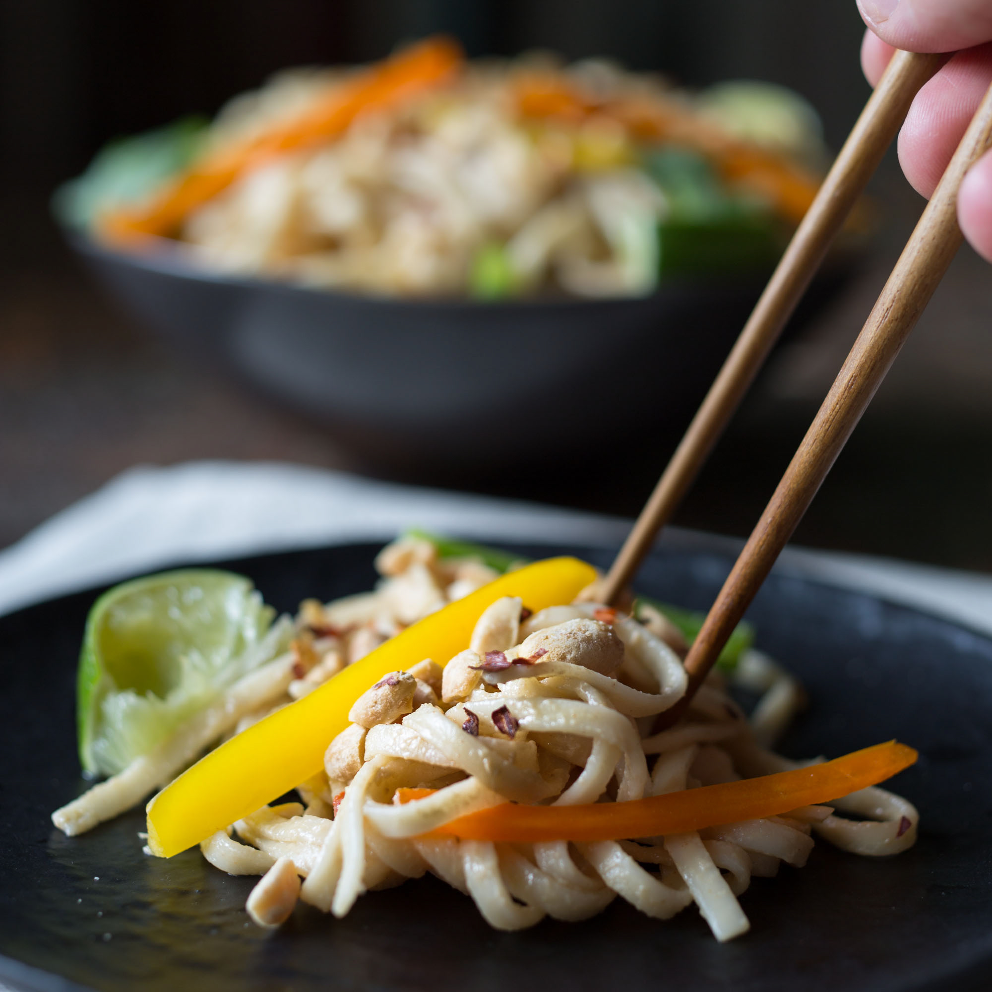 Portable Recipe: Cold Noodle Salad with Creamy Peanut Sauce | Kitchn