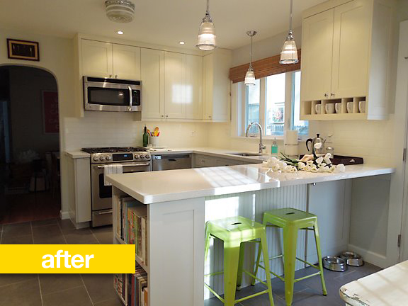 Kitchen Before After A Cookbook Author Transforms His 1950s Kitchn