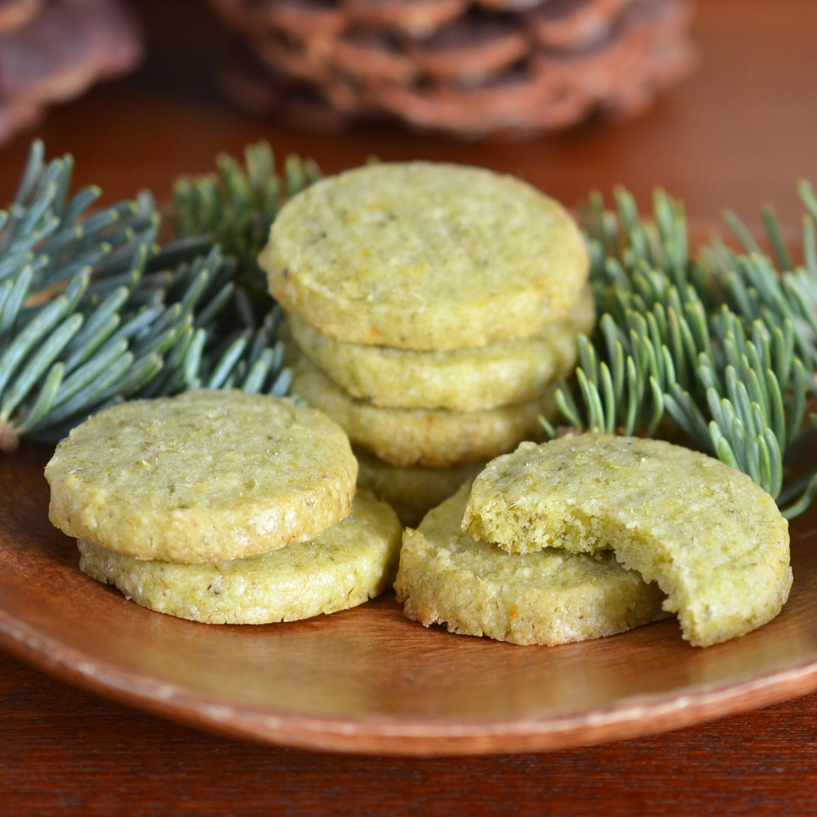 Summer Cabin Recipe: Foraged Evergreen Shortbread Cookies | Kitchn