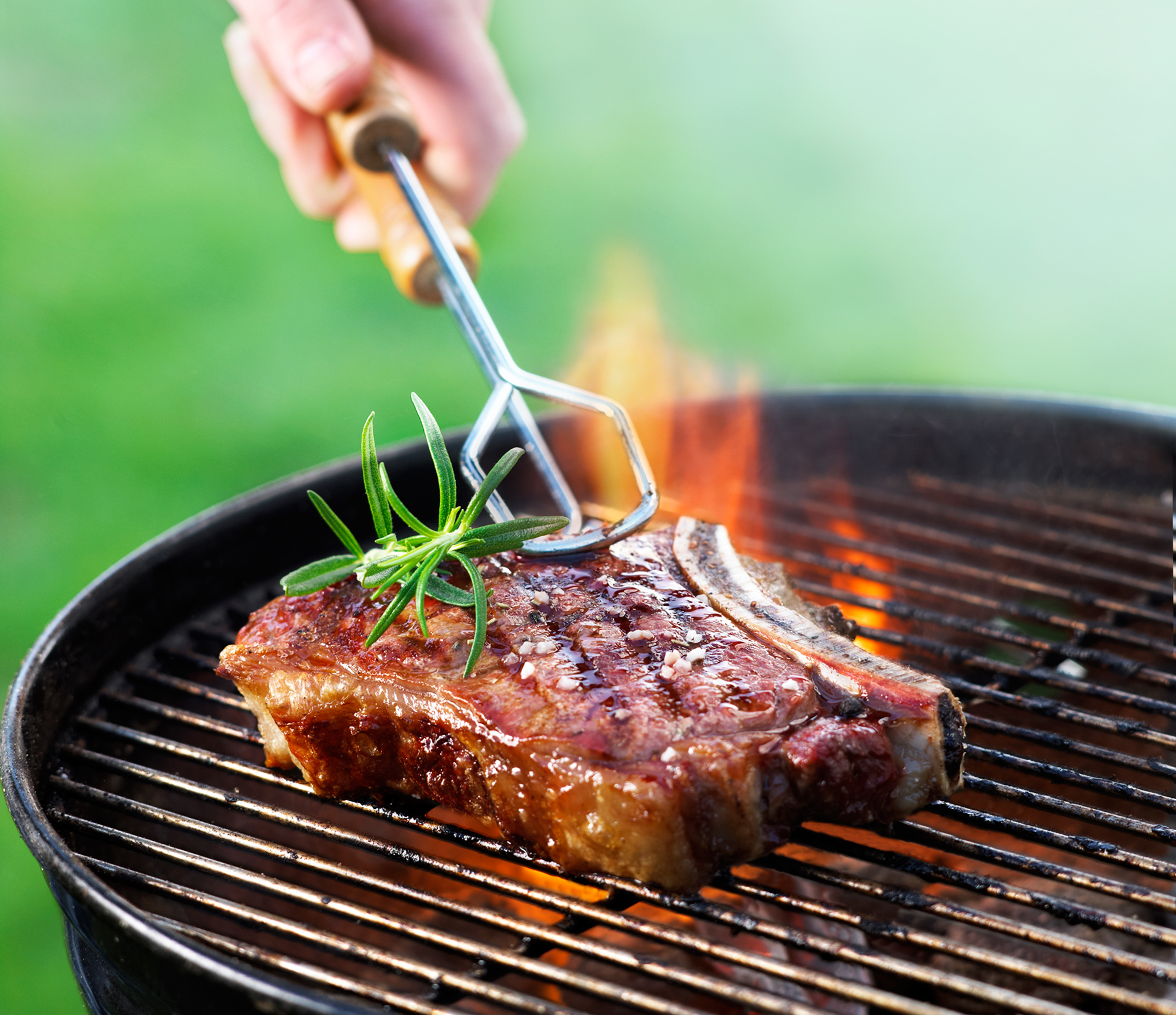 Throw Fresh Herbs Straight on the Grill for Herby, Smoky Flavor | Kitchn