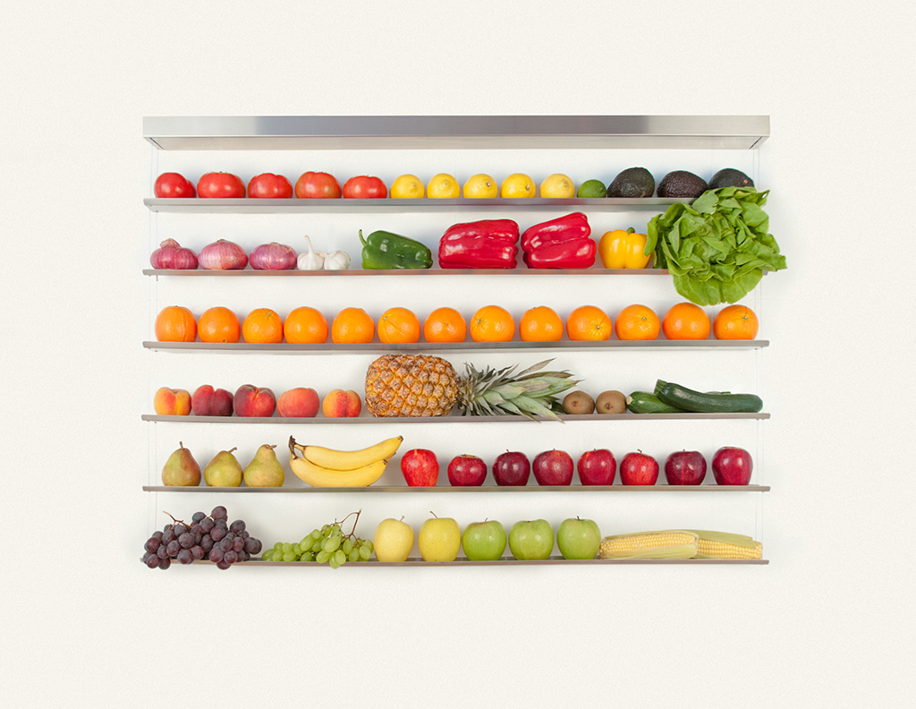 Fruit-Wall: A Striking, Space-Saving Way to Store Your Fruit | Kitchn