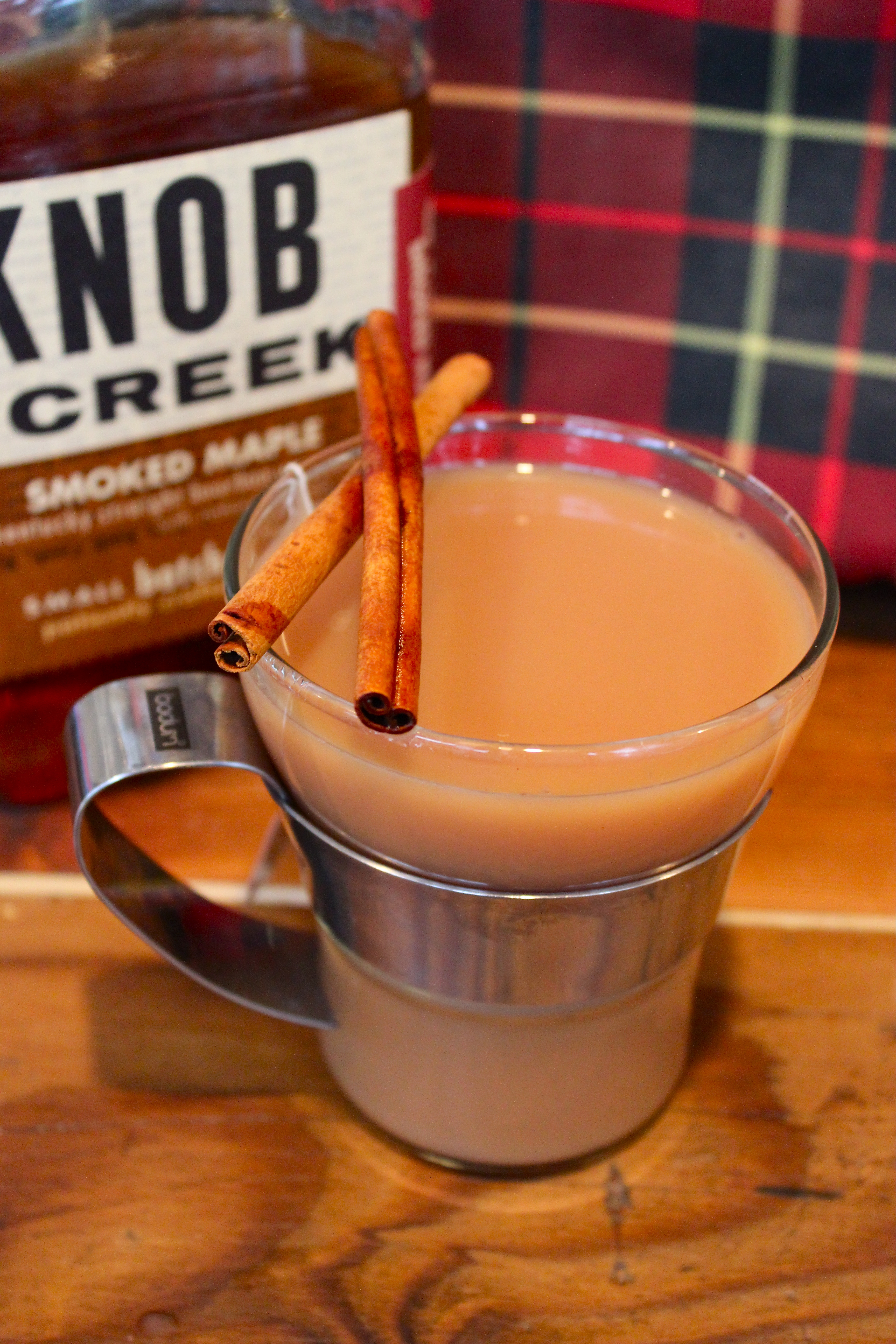 Fall Camping Cocktail Recipe: Smoked Maple Bourbon Chai Tea Toddy | Kitchn