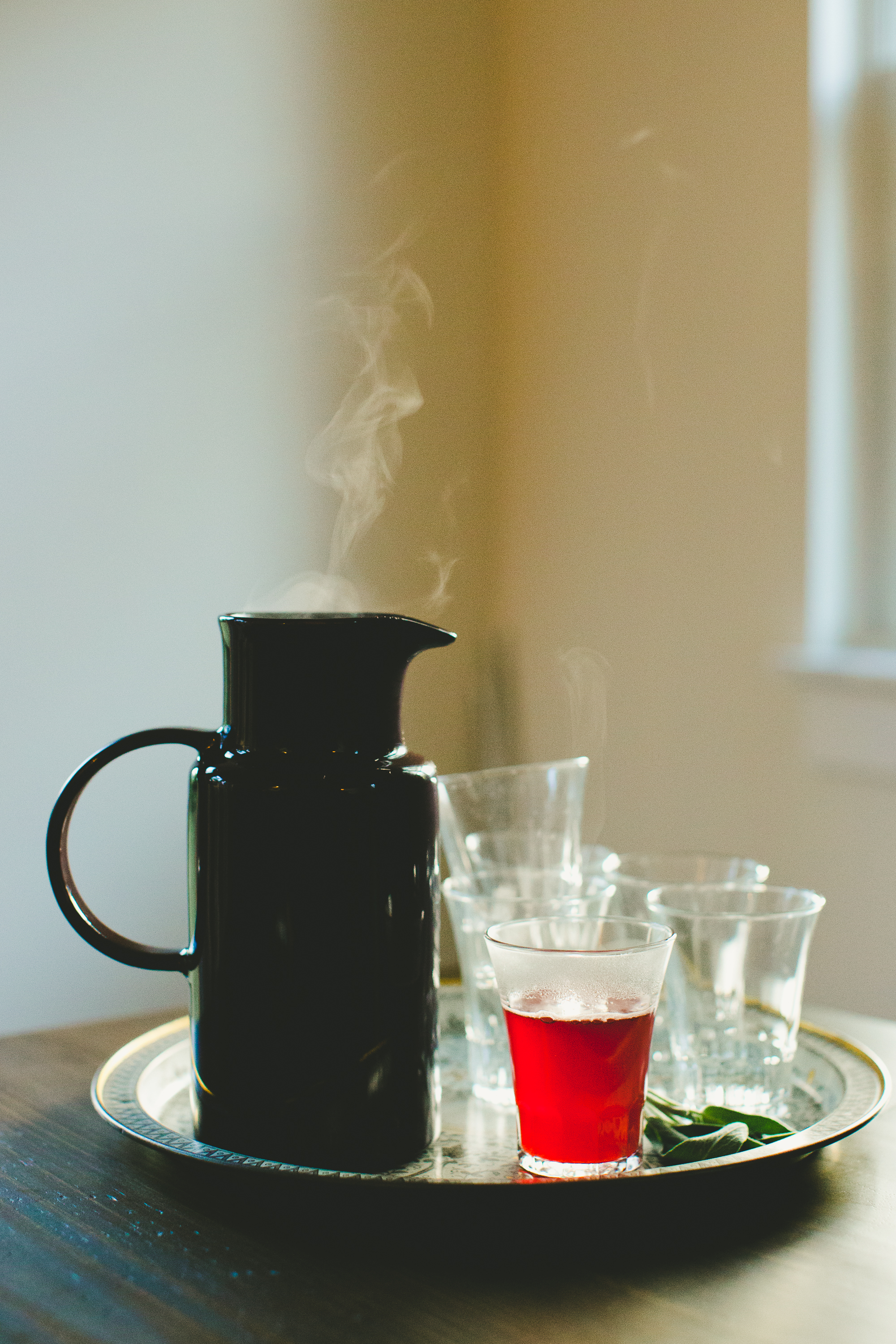 After-Dinner Recipe: Hot Cranberry Punch with Sage & Peppercorns | Kitchn