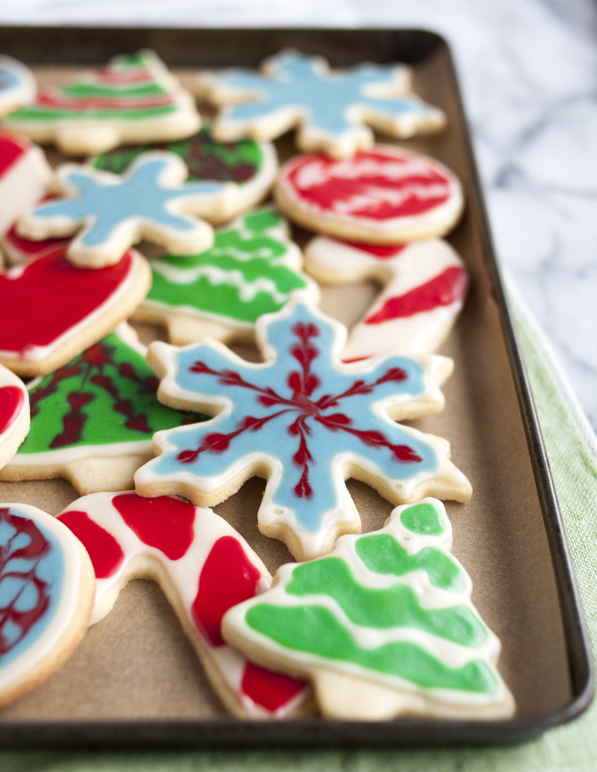 Christmas Cookie Frosting.How To Decorate Cookies With Icing
