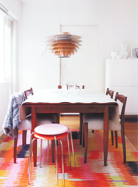 Are Dining Areas With Rugs Over Designed Or Functional